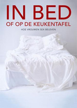 in bed of op de keukentafel